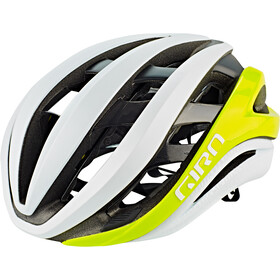Giro Aether MIPS Casco, mat citron/white